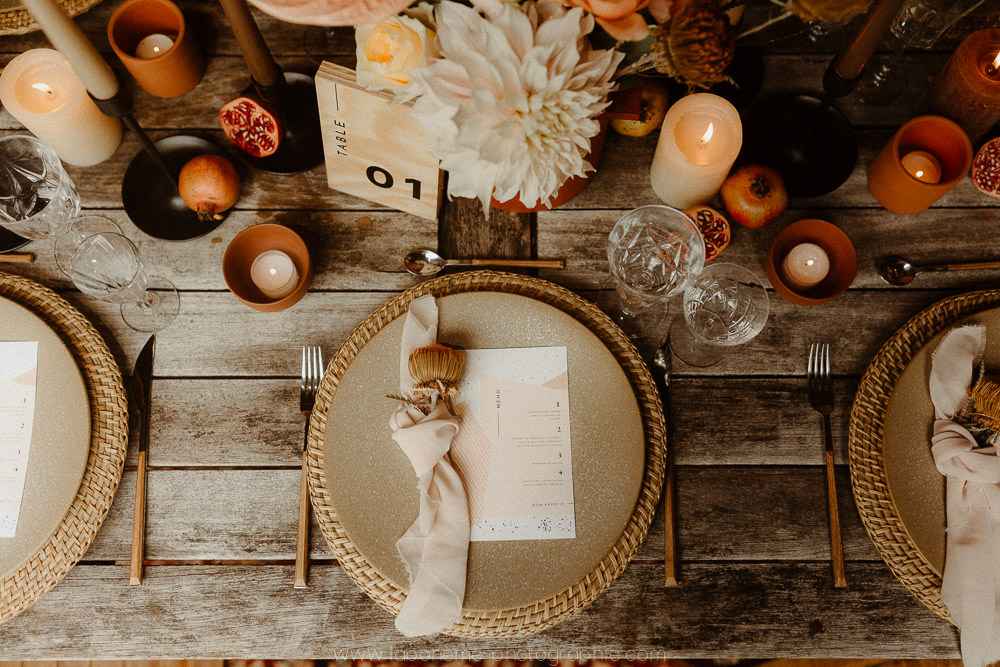 decoration terracotta mariage