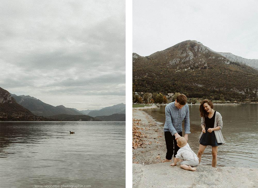 photographe famille lac du Bourget