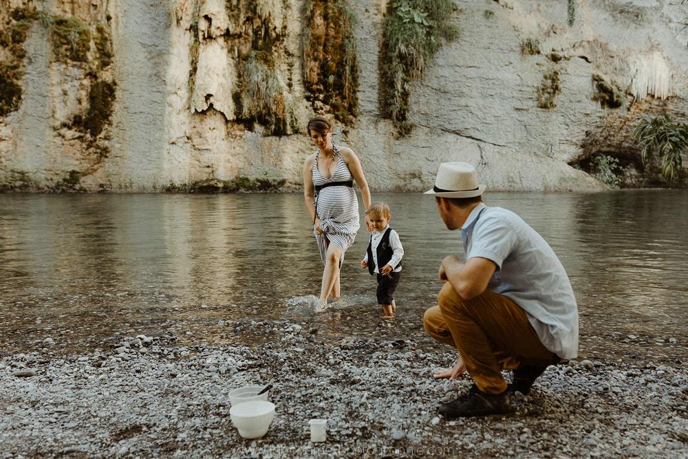 photo de grossesse en famille a vallieres