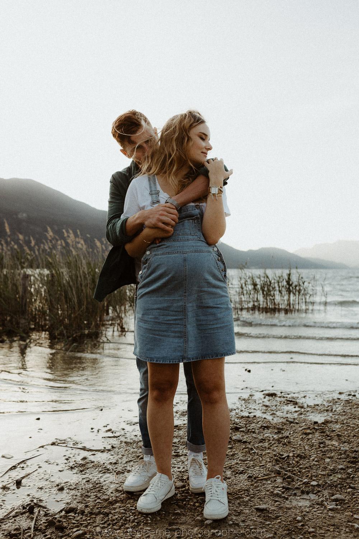 photographe grossesse lac du bourget