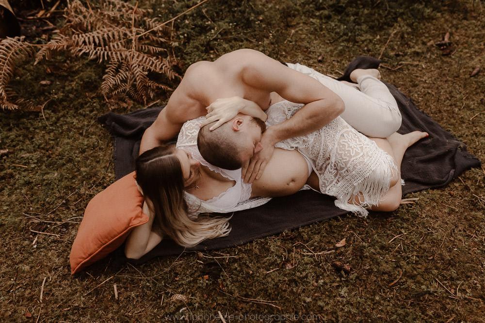 photographe grossesse Aix les Bains