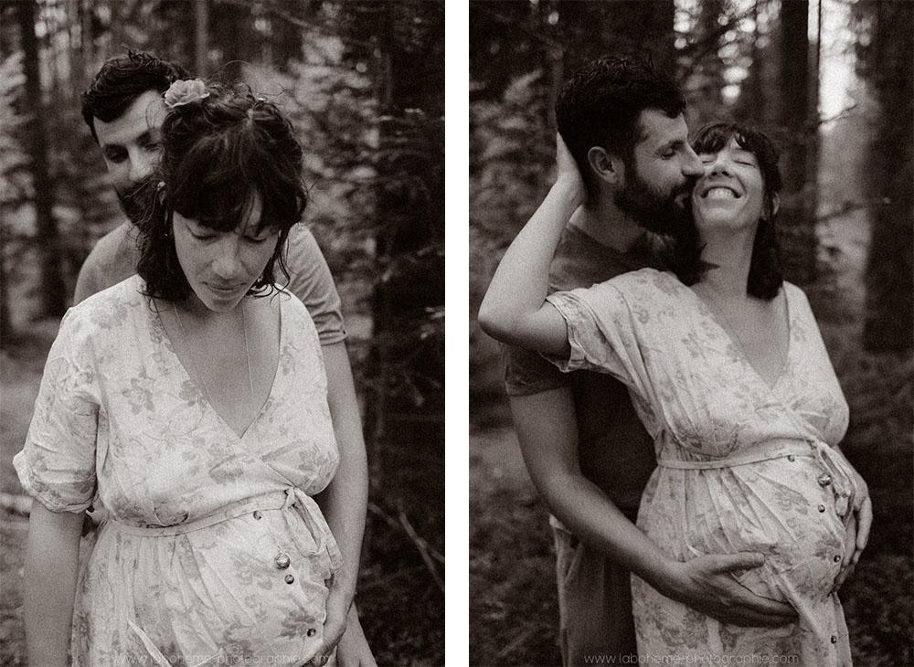 photographe grossesse intime geneve