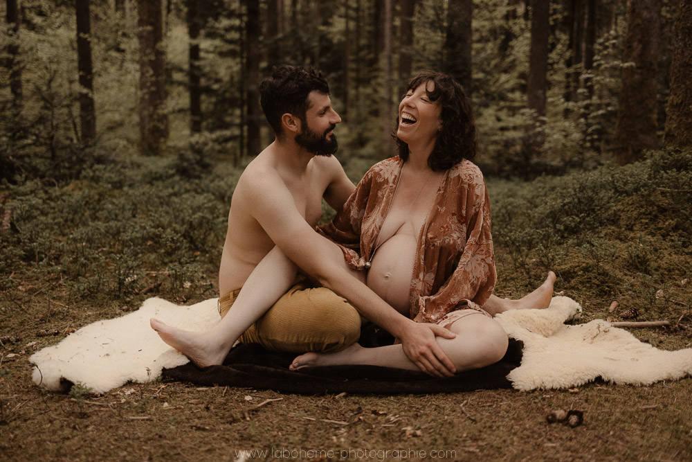 photographe grossesse boheme Annecy