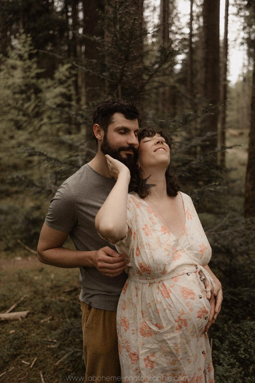 seance grossesse sauvage dans la foret
